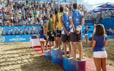 Men's Poreč medalists upset in Gstaad