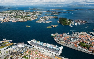 A Bird's-eye view of Stavanger Major