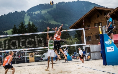 Who will climb out of the pool in Gstaad?