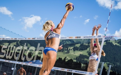 Archrivals Brazil and USA advance in Gstaad