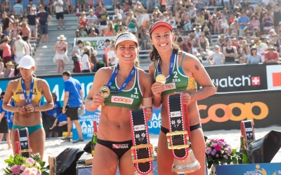 Brazilian women complete Swatch Major Series sweep