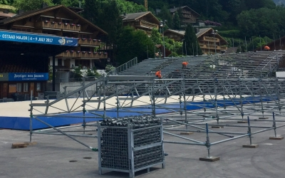Gstaad Major taking shape!