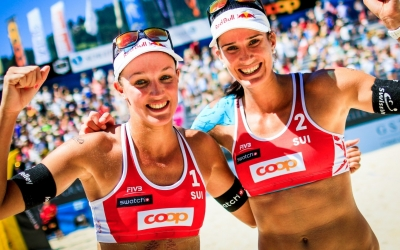 The women set for Gstaad!