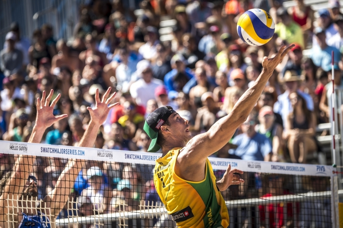 Brazilian Saymon Barbosa is aiming to add to his Fort Lauderdale gold in Rio