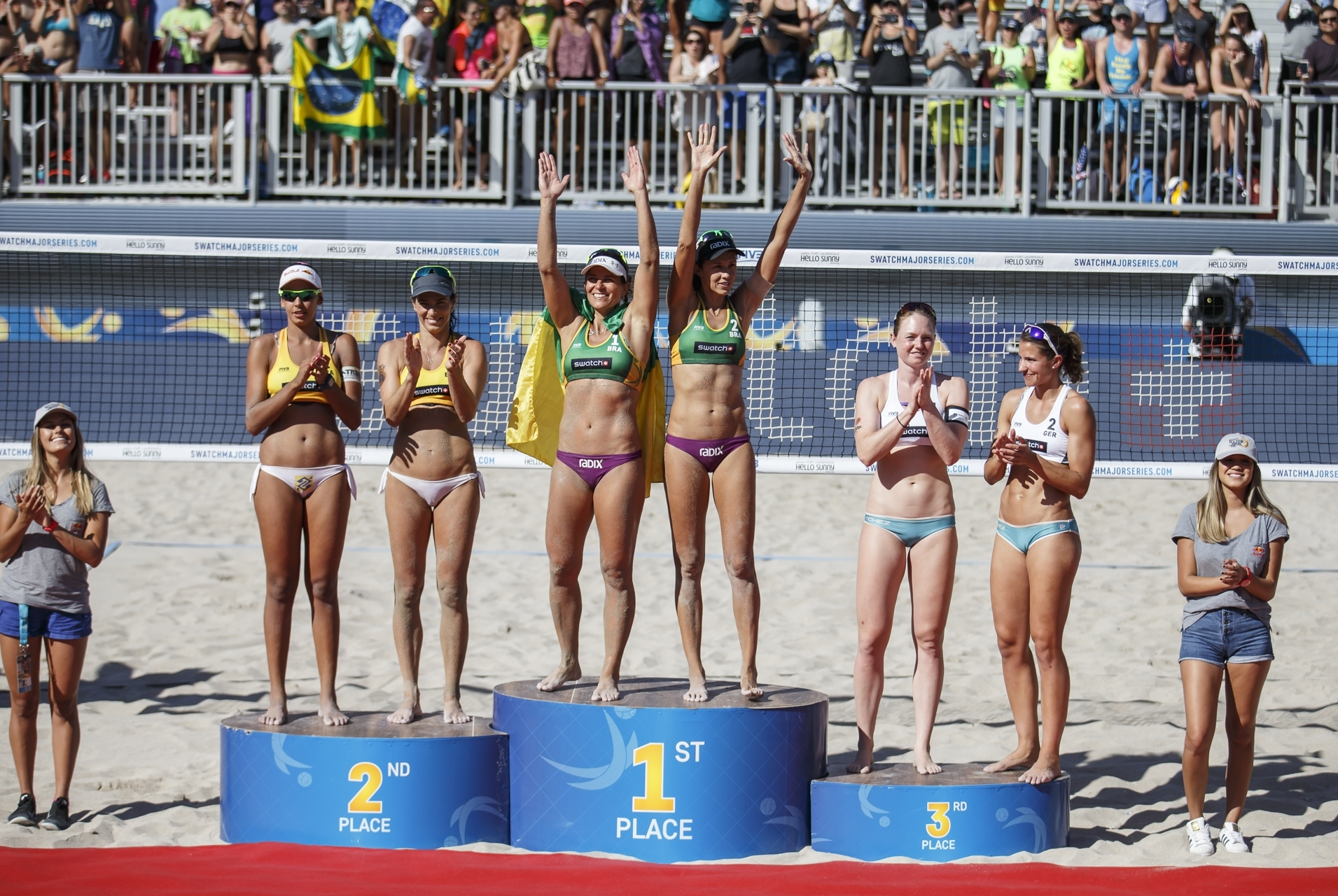 All three women's medalists from the Fort Lauderdale Major are in action in Rio this week