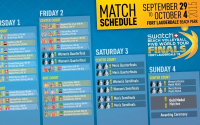 Match Schedule revealed