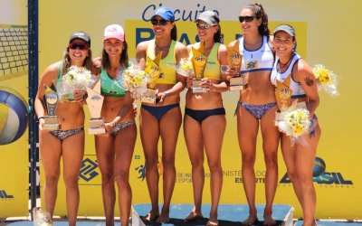 Juliana and Taiana win gold in Curitiba