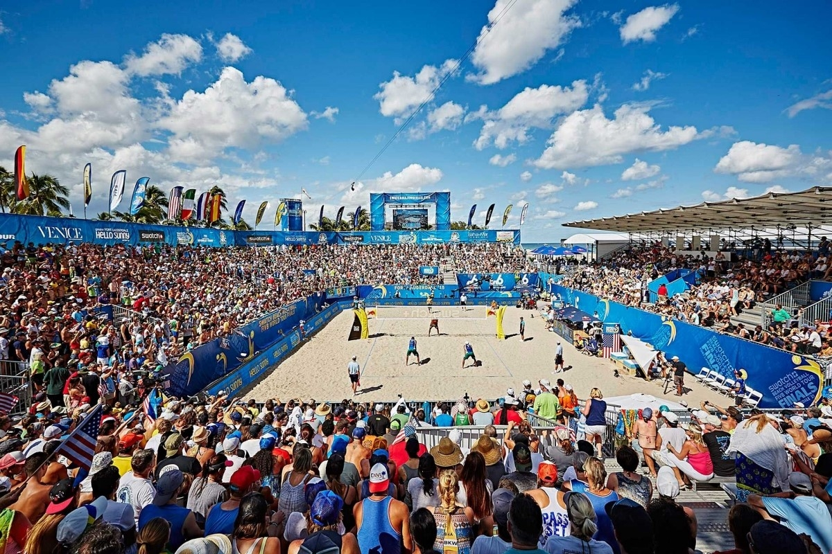 The Fort Lauderdale Major will open the 2017 FIVB World Tour in February! Photocredit: Andreas Langreiter.