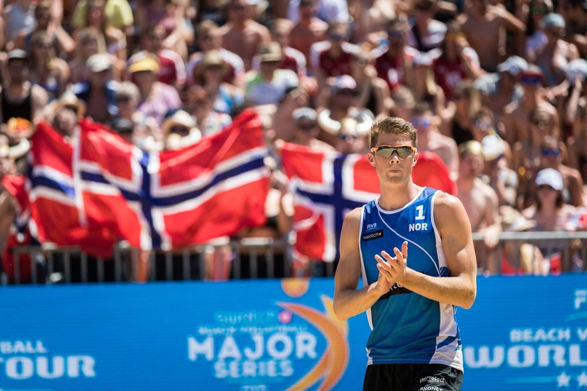 Anders Mol, the youngest BeachVolley viking, was named 2017 Rookie of the Year