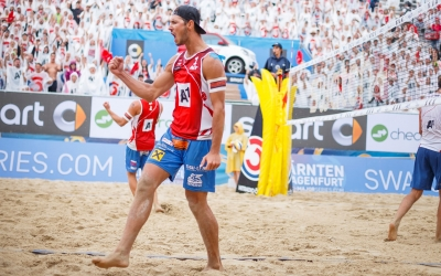 Austria hails newest beach volleyball stars