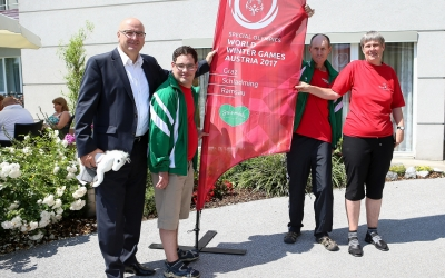 Special Olympics 2017 finds a new friend in Klagenfurt