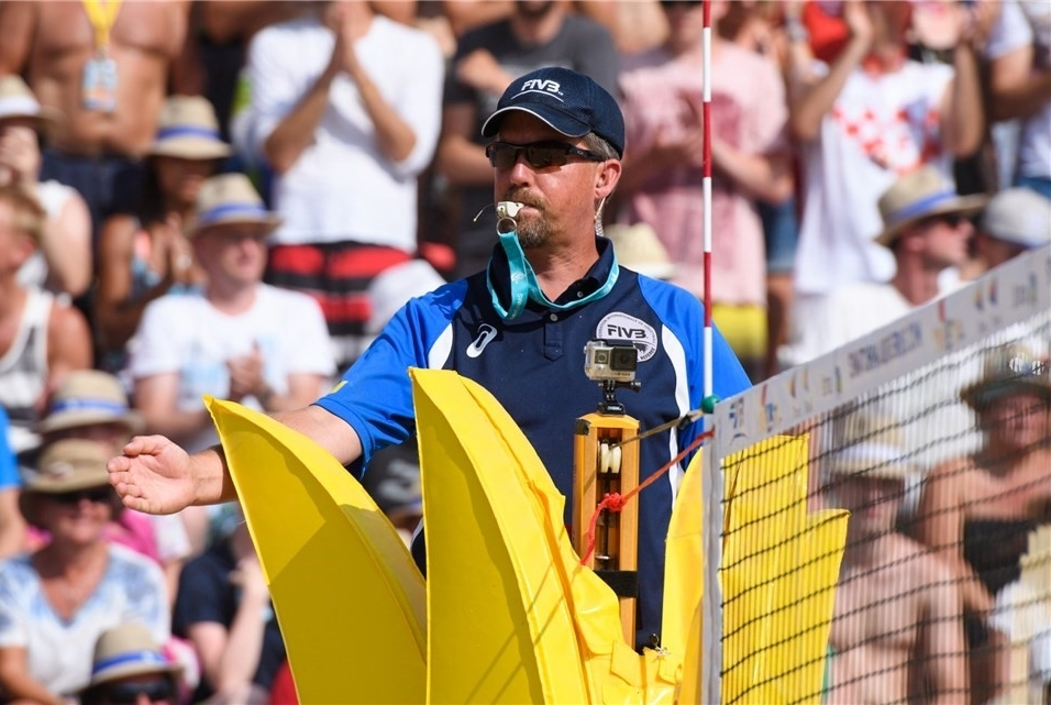 Dan Apol was an international referee on the FIVB World Tour for 12 seasons.