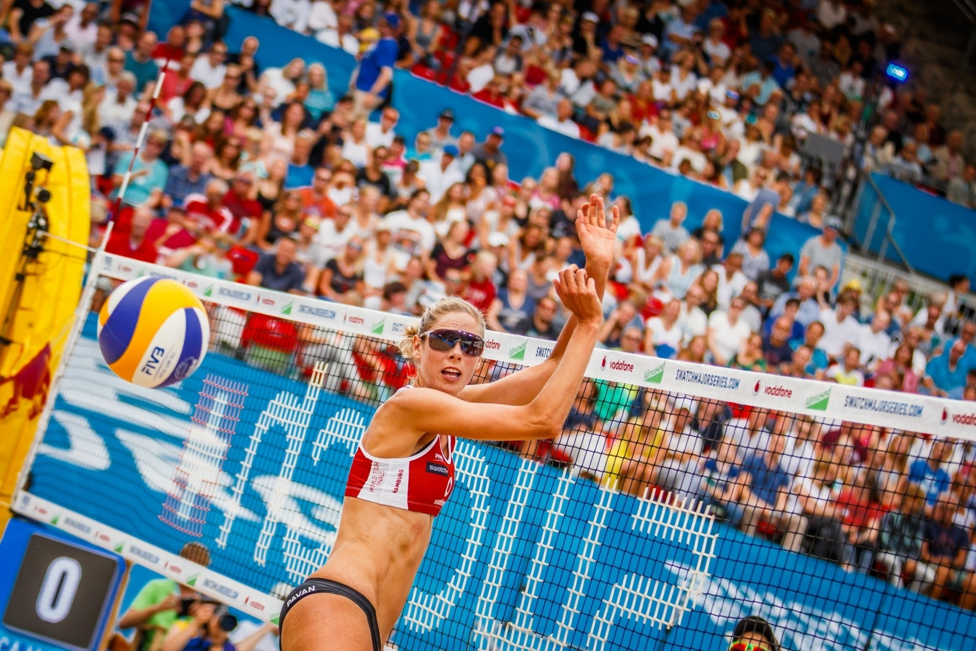 Will the extra touch after the block help master blocks such as Canada's Sarah Pavan?