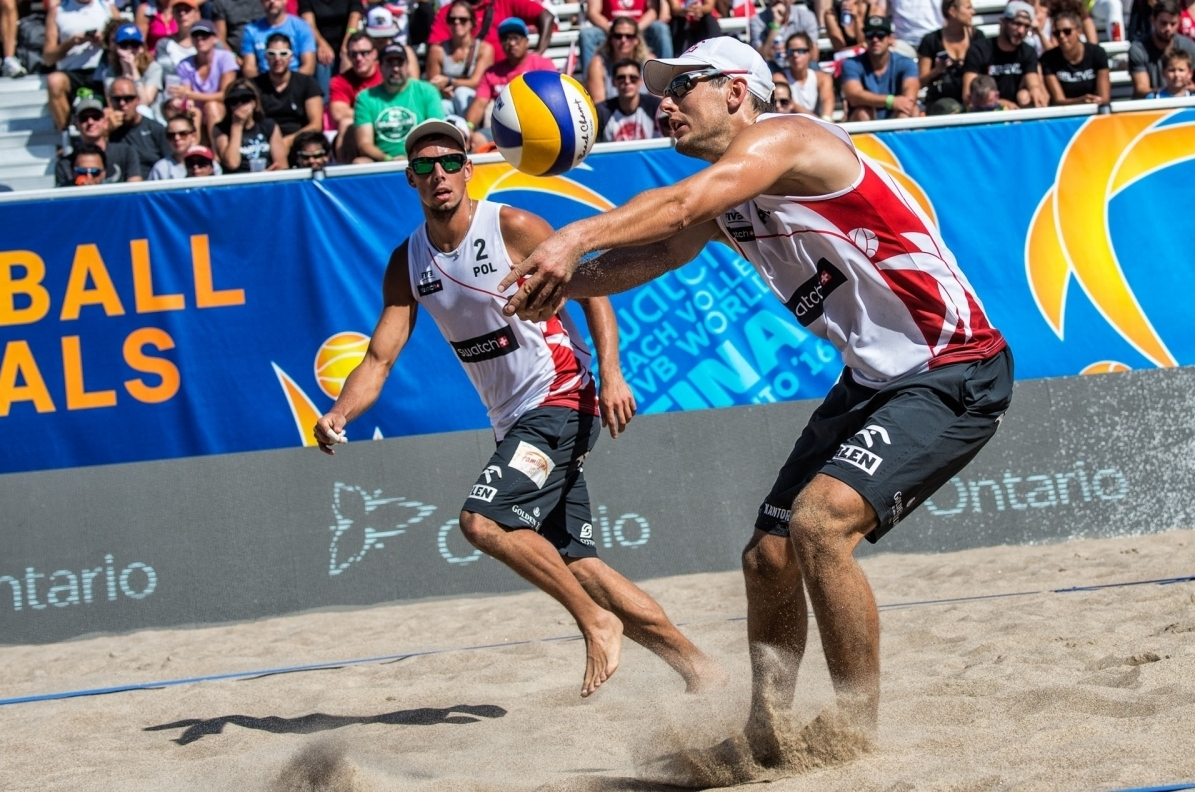 Kantor/Losiak's excellent start to the season continued on the Copacabana. Photocredit: Mihai Stetcu.
