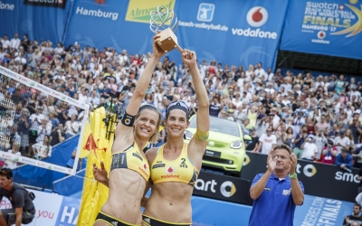Golden girls keep gold in Hamburg!