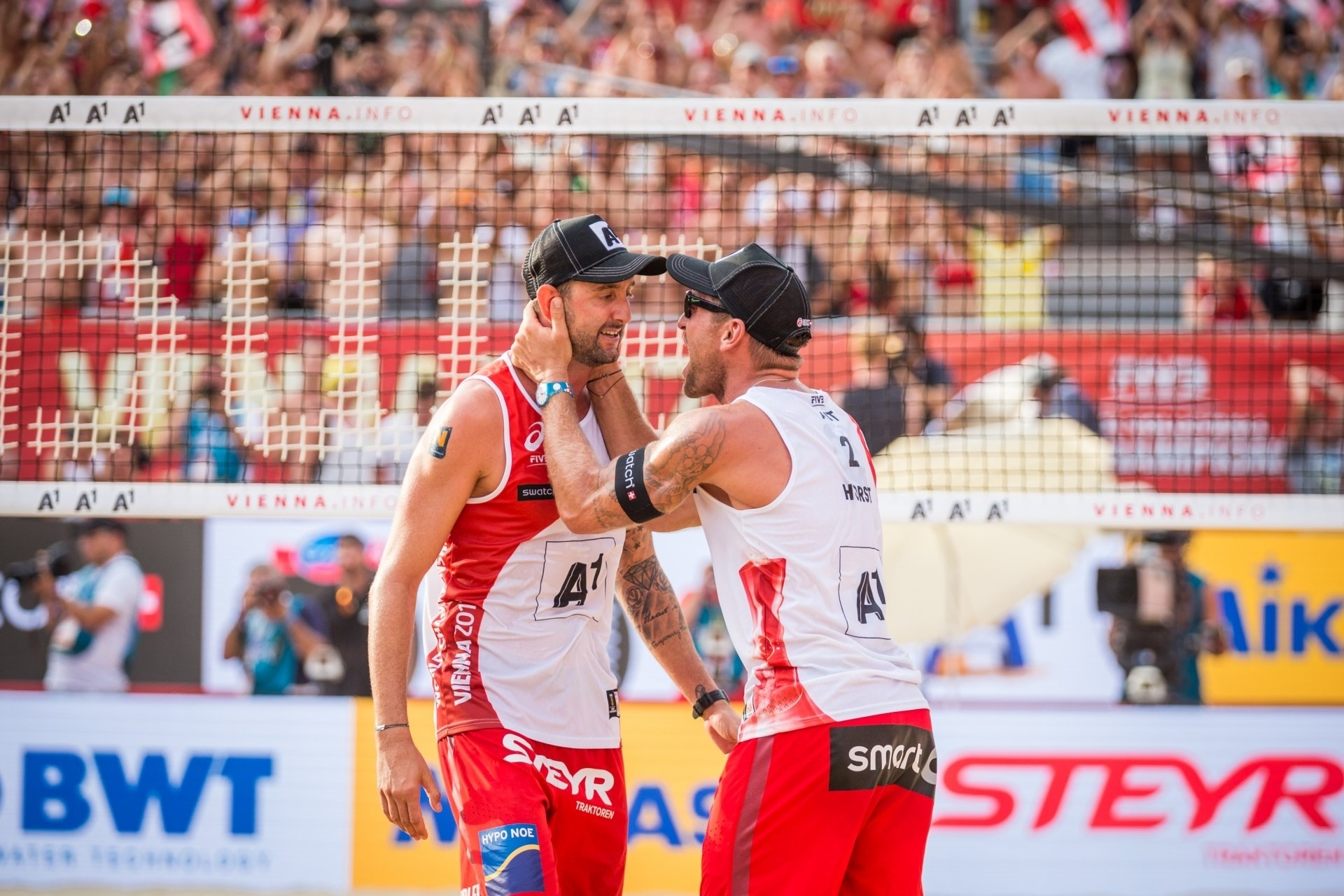 World Champ silver medalists Doppler/Horst are one Austrian team sticking together for the 2018 season