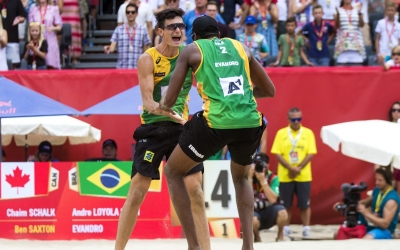 Brazilians tough it out to reach semis
