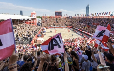 Beach volleyball's back in Vienna!