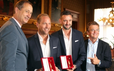 Golden award for Austria's silver boys!