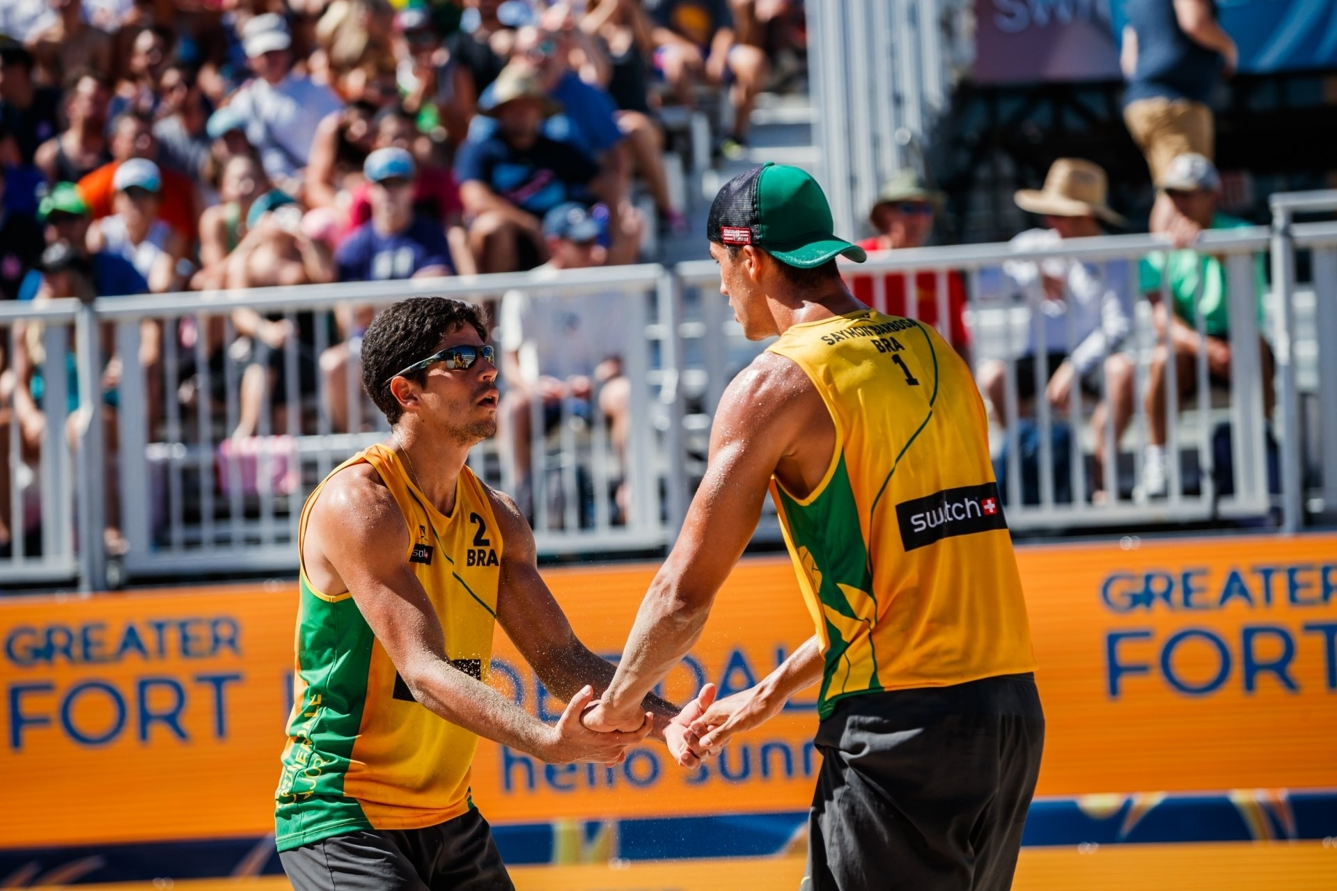 Alvaro and Saymon were in superb form to win the men's gold medal in Rio