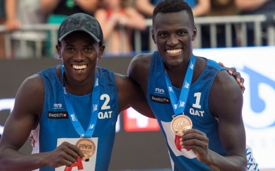 Historic bronze for Cherif/Tijan