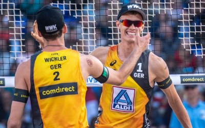 Home heroes Thole/Wickler face 2013 champions