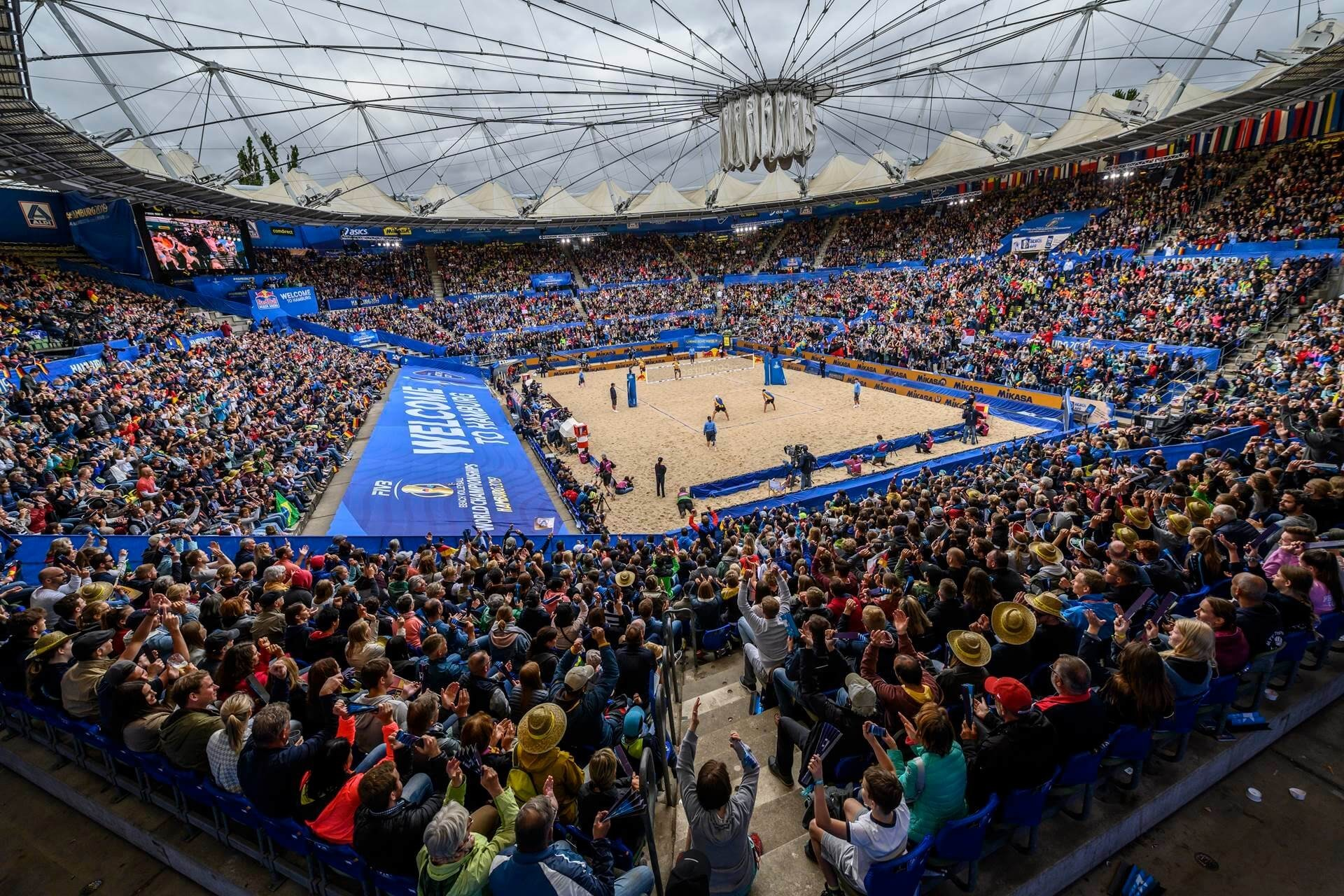 The 2019 World Championships in Hamburg was one the biggest beach volleyball tournaments in history