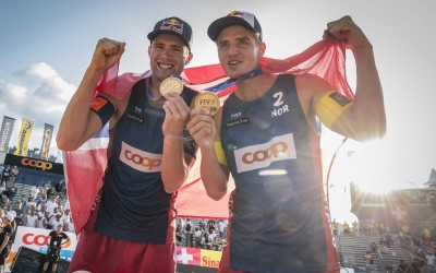 Back-to-back Gstaad gold