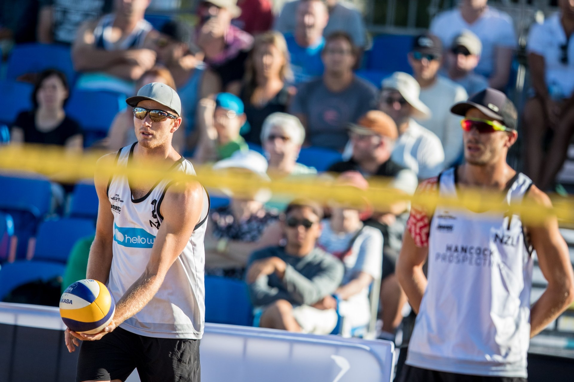 The O'Dea brothers Sam and Ben were selected to play for New Zealand at the Coolangatta Beachfront (Photocredit: FIVB)