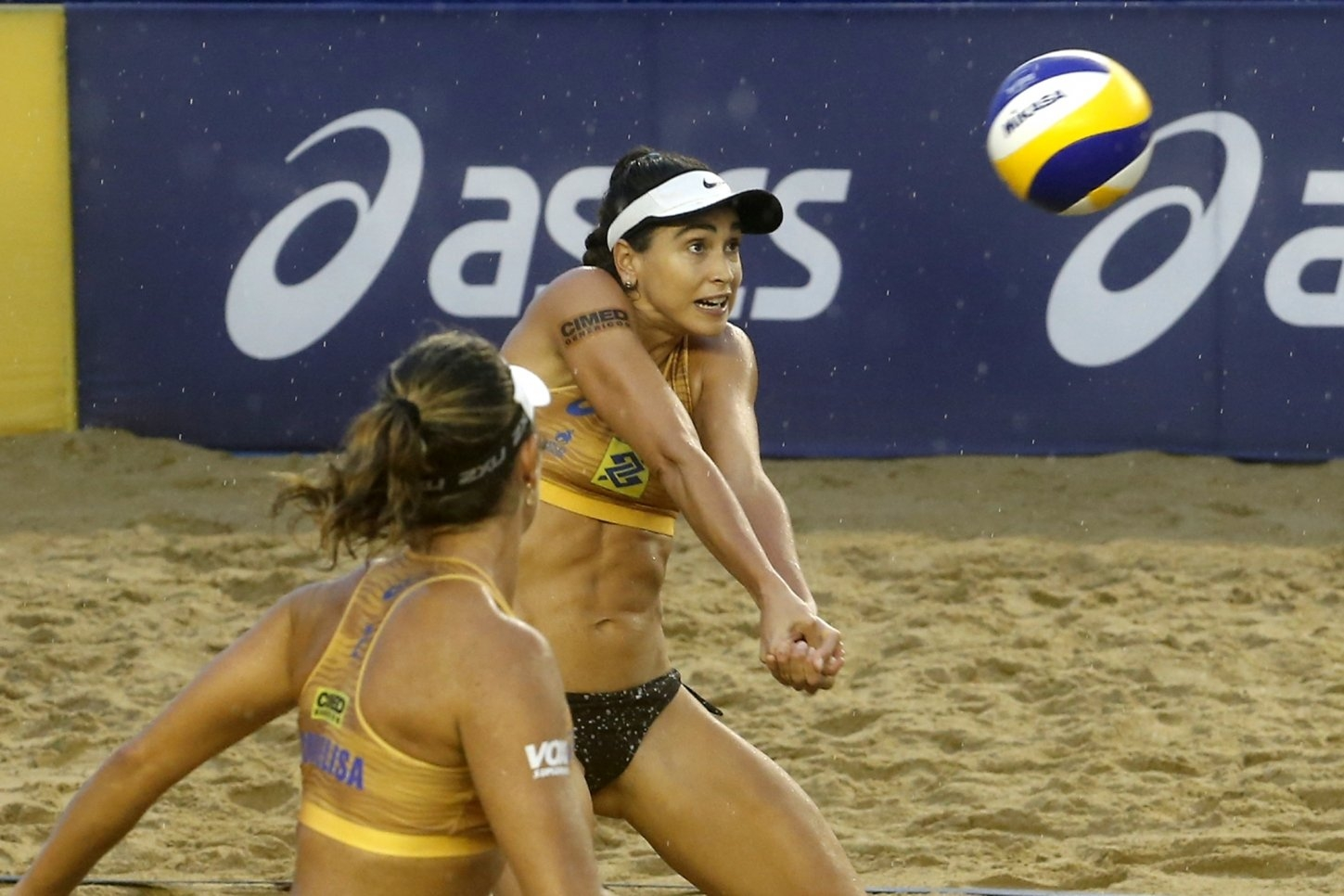 Carol Solberg and Maria Elisa Antonelli lead the Brazilian Tour after four events (Photocredit: CBV)