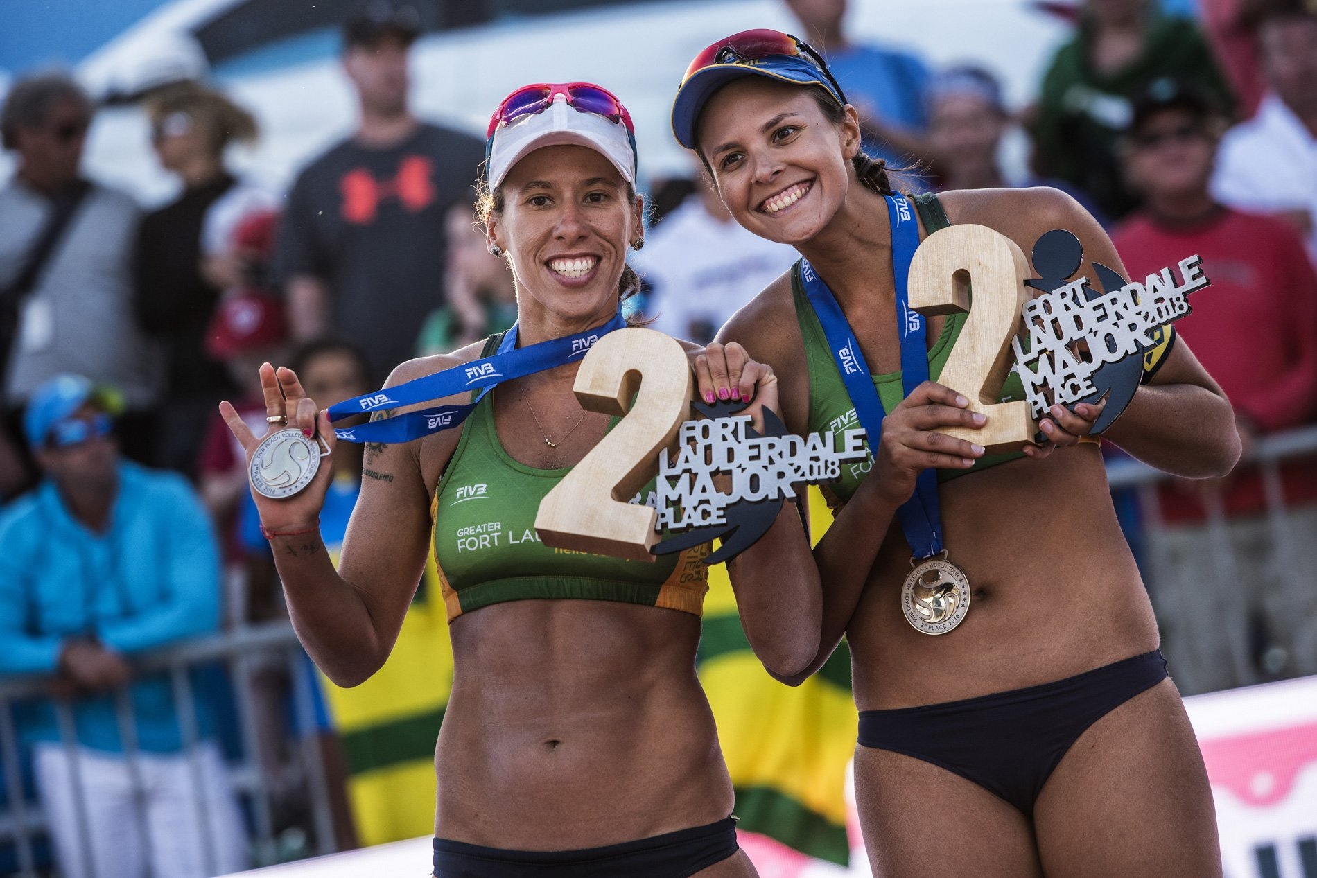 Taiana and Carol Horta will be together in the World Tour tournament in China in April