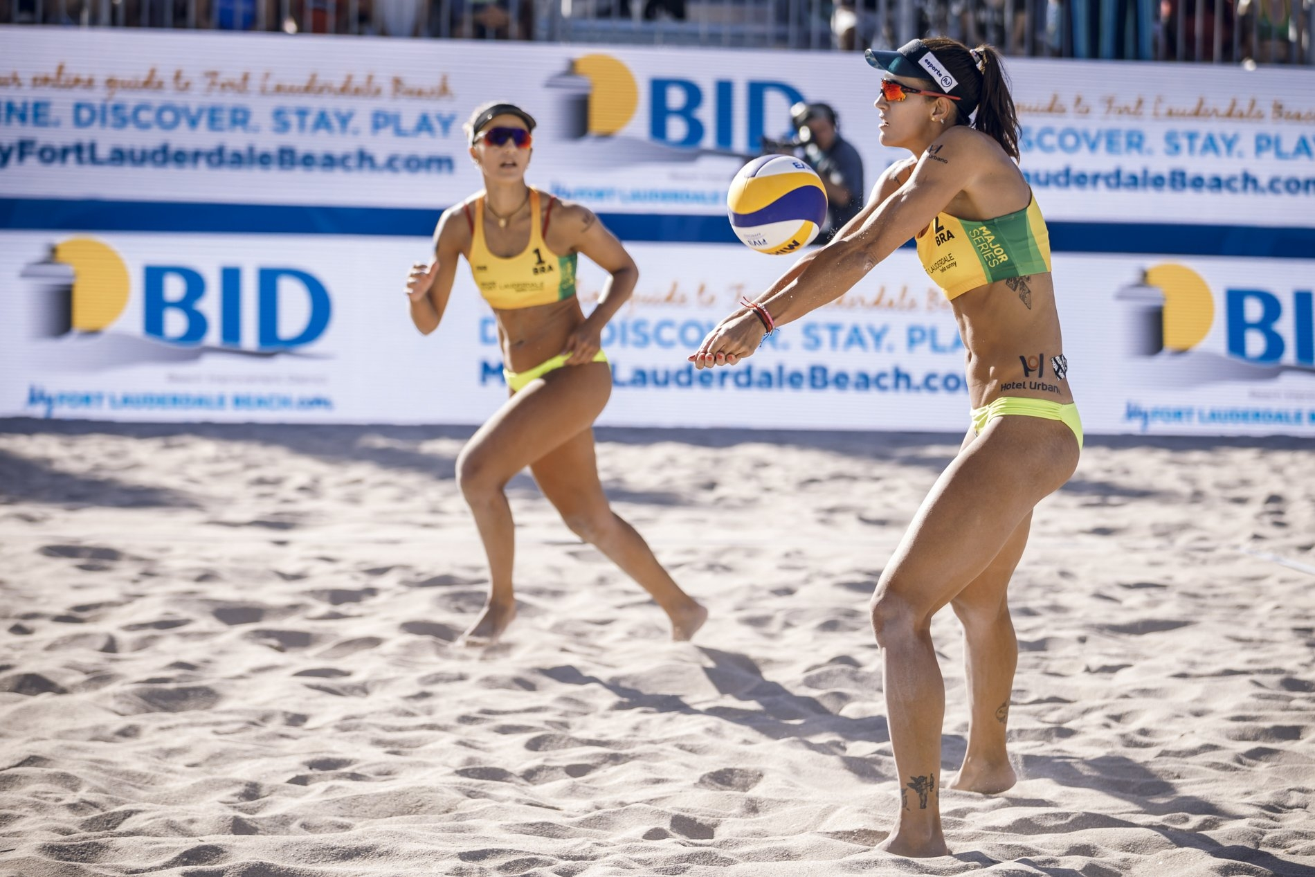 Barbara and Fernanda are third in the world rankings after their victory in Fort Lauderdale
