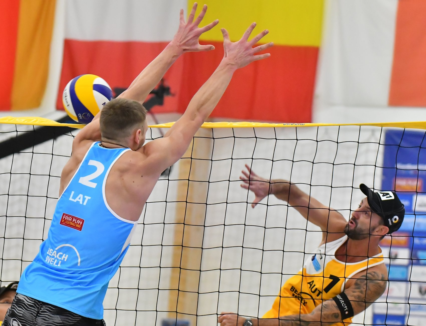 Events as the CEV European Masters will now be part of the World Tour (Photocredit: CEV)