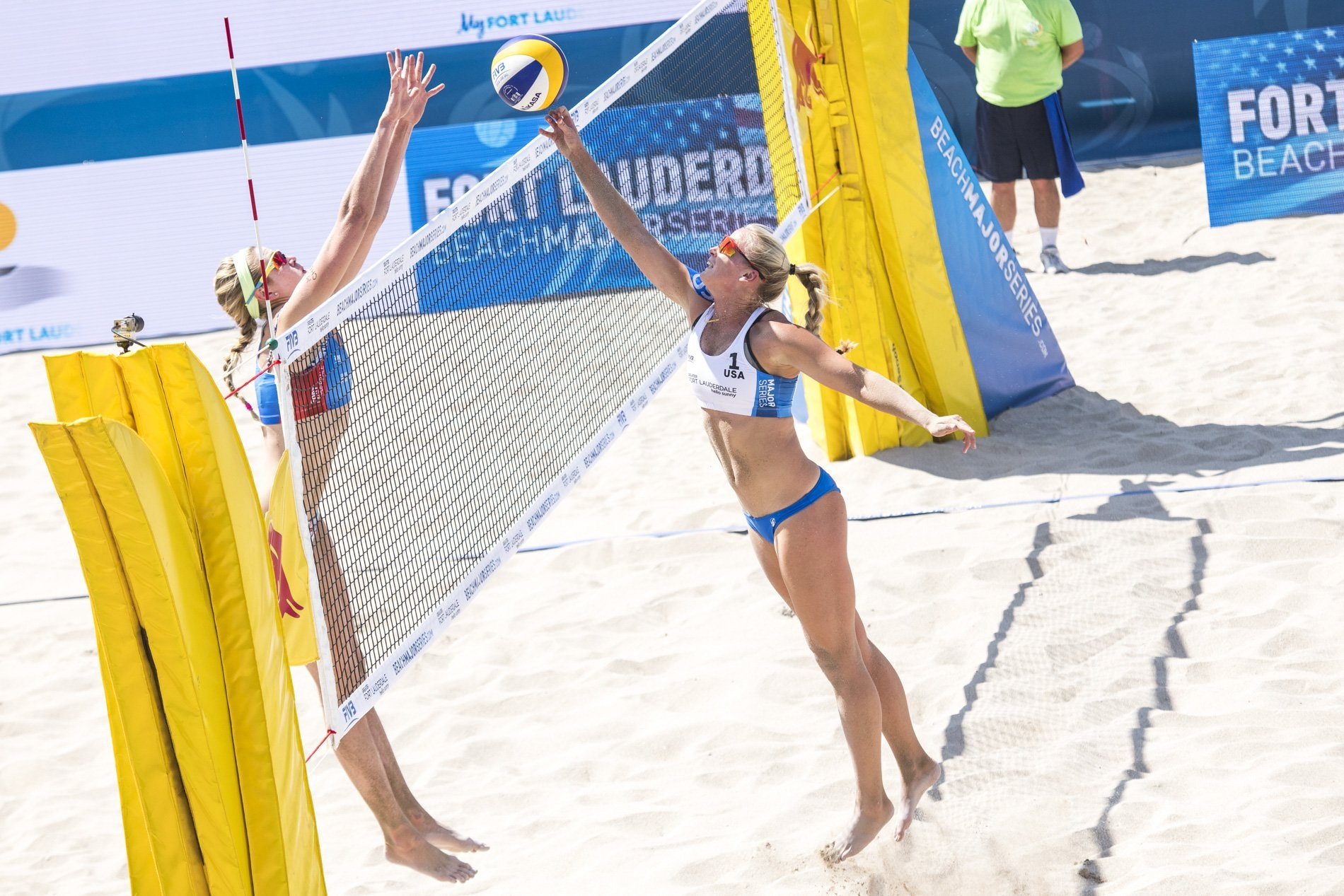 Summer Ross and Sara Hughes were in opposite sides in the Fort Lauderdale Major