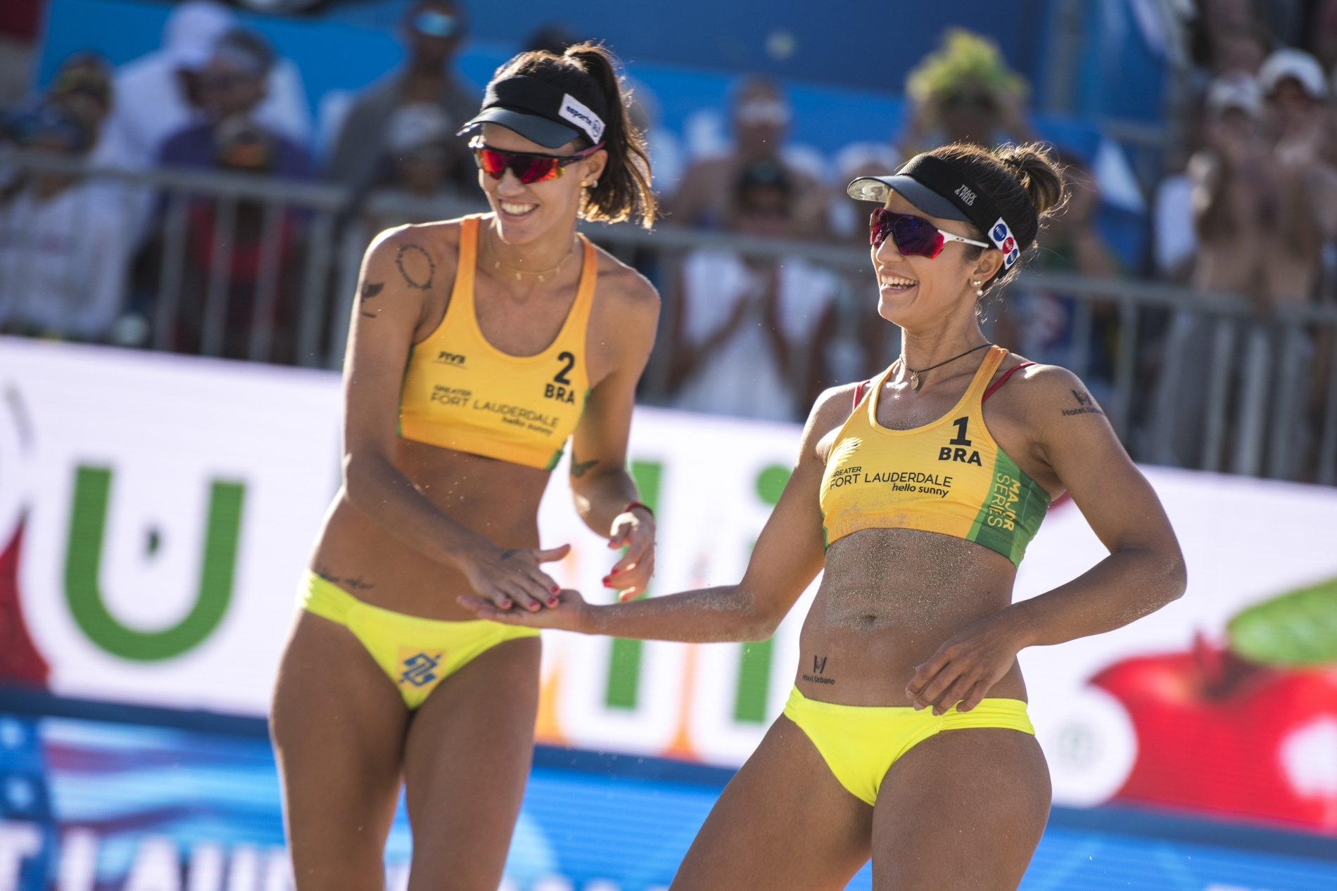 Fernanda and Barbara want to use the good momentum to get to the top of the podium in Maceió