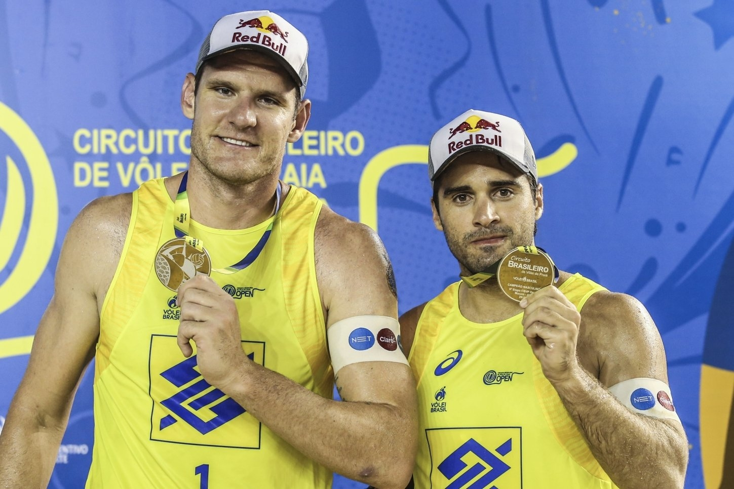Alison and Bruno have won two golds and one silver in the last three events of the Brazilian Tour (Photocredit: CBV)