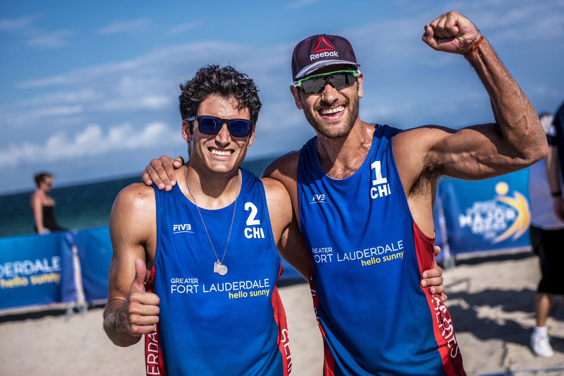 Esteban and Marco Grimalt competed in the 2018 Fort Lauderdale Major