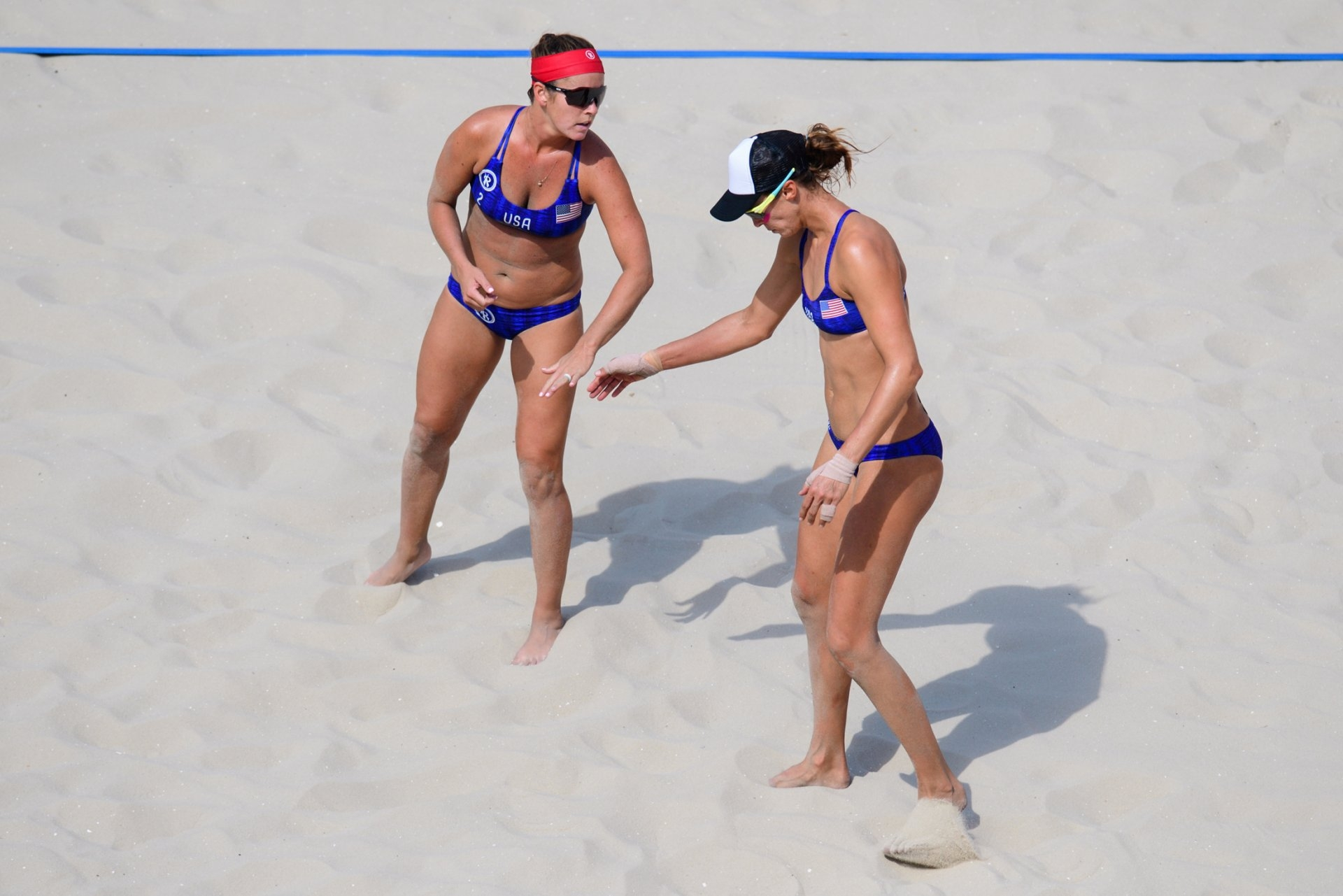 Sweat and Fendrick were partners in the Rio 2016 Olympics (Photocredit: FIVB)