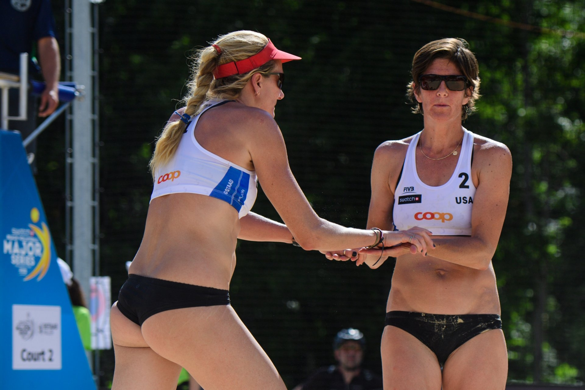 Walsh-Jennings and Branagh played together in three tournaments last summer (Photocredit: FIVB)