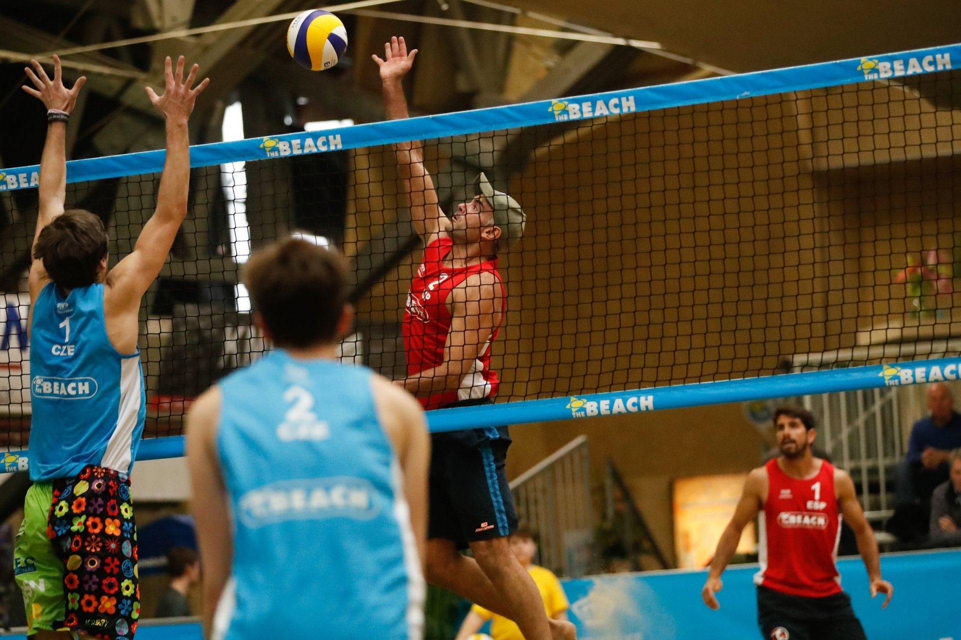 Spanish Olympian Raul Mesa is the most experienced player in the tournament in Thailand (Photocredit: FIVB)