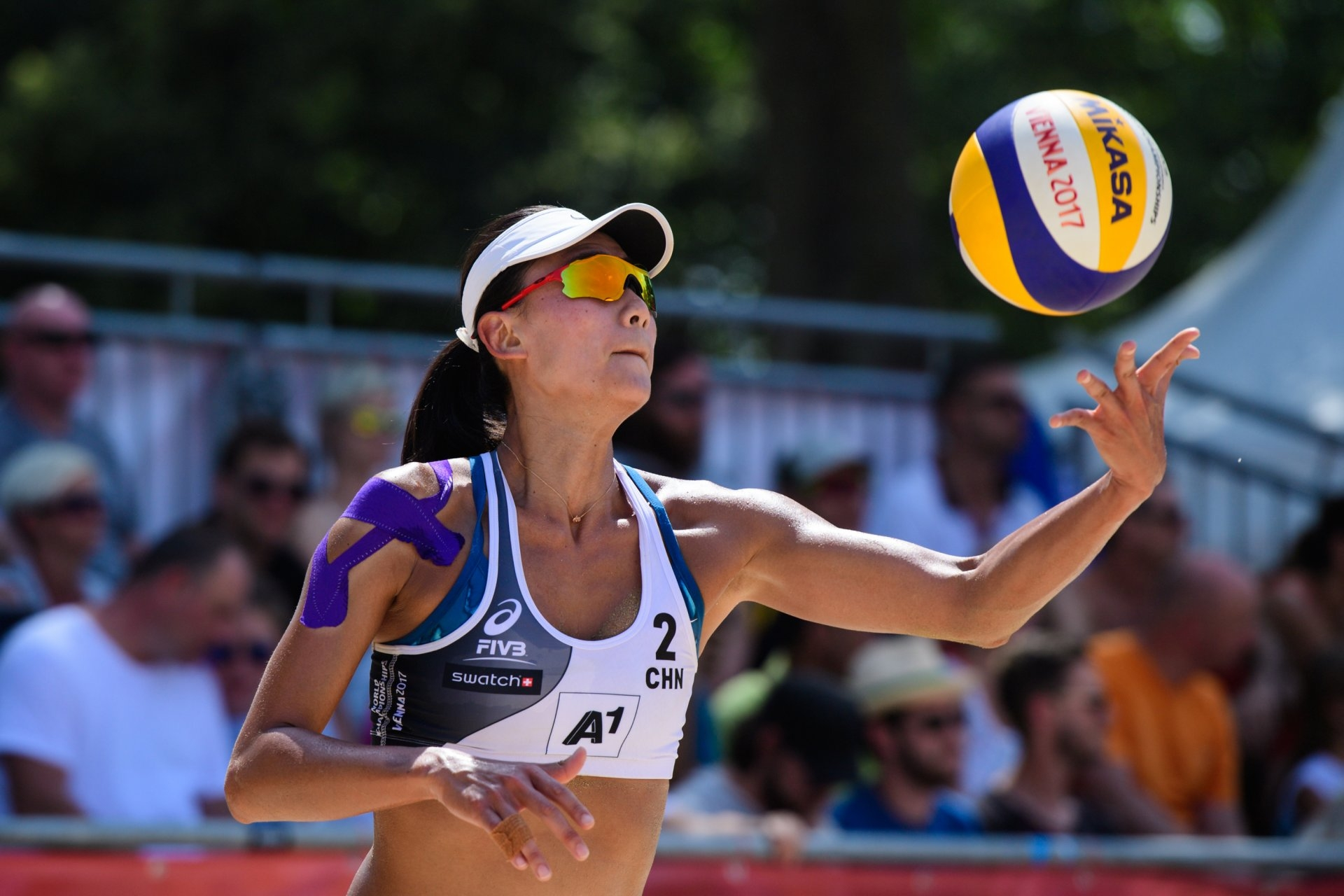Xue is rehabbing her right shoulder, in which she had surgery in 2015 (Photocredit: FIVB)