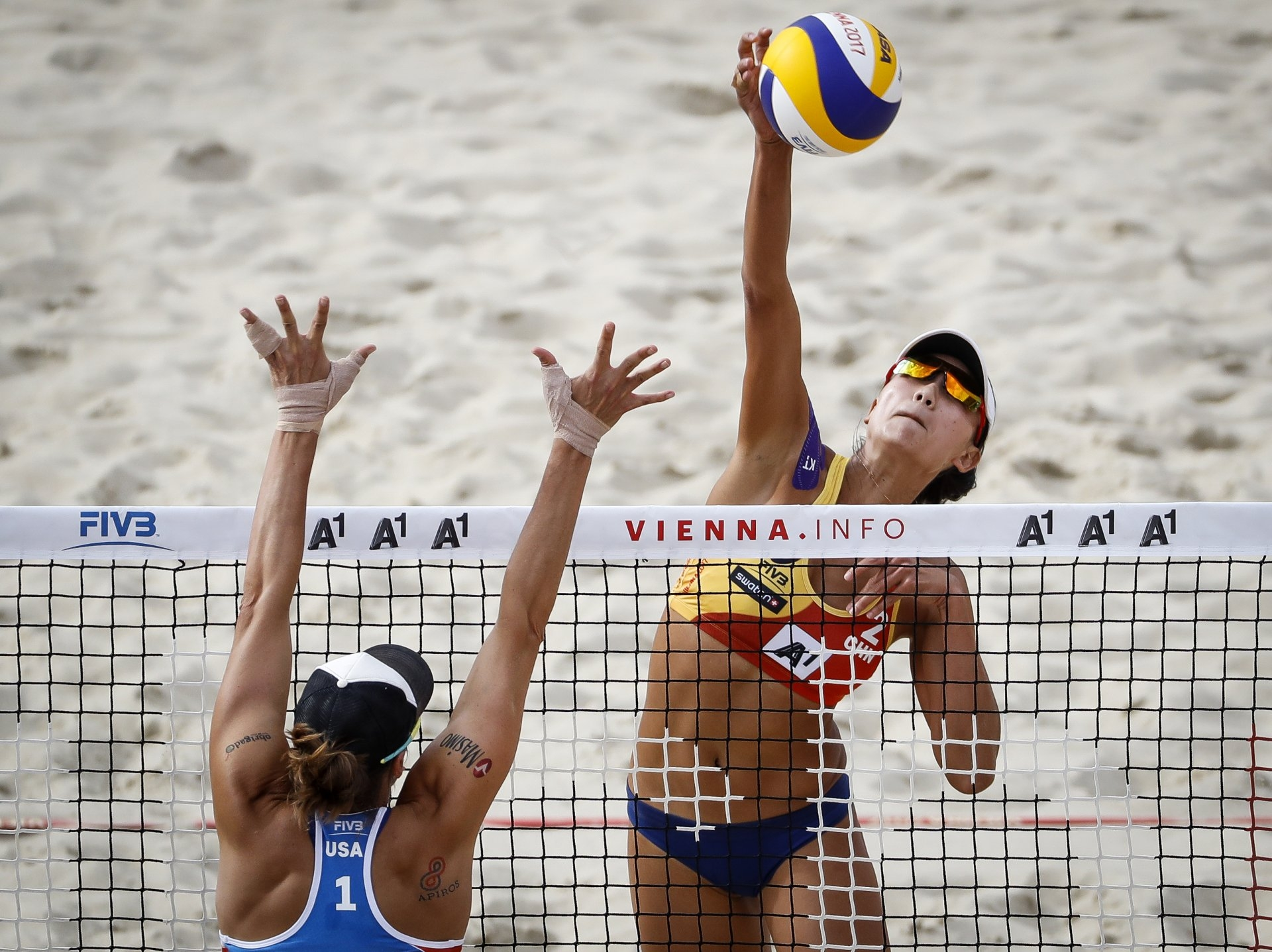 Chen Xue last competed internationally in the 2017 World Championships (Photocredit: FIVB)