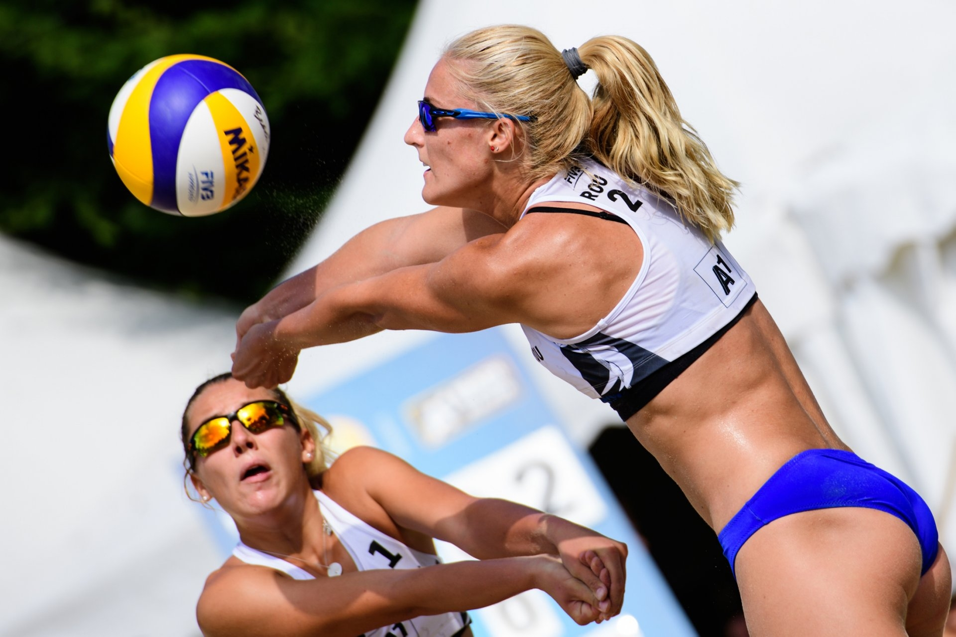 Vaida and Matei are displaying consistent progress in the international scene (Photocredit: FIVB)