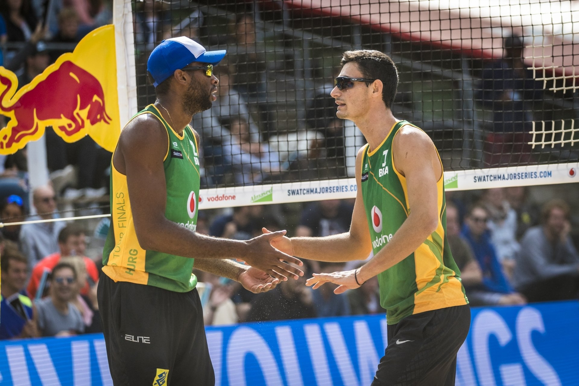 Evandro and Andre have won last year's World Championships and World Tour