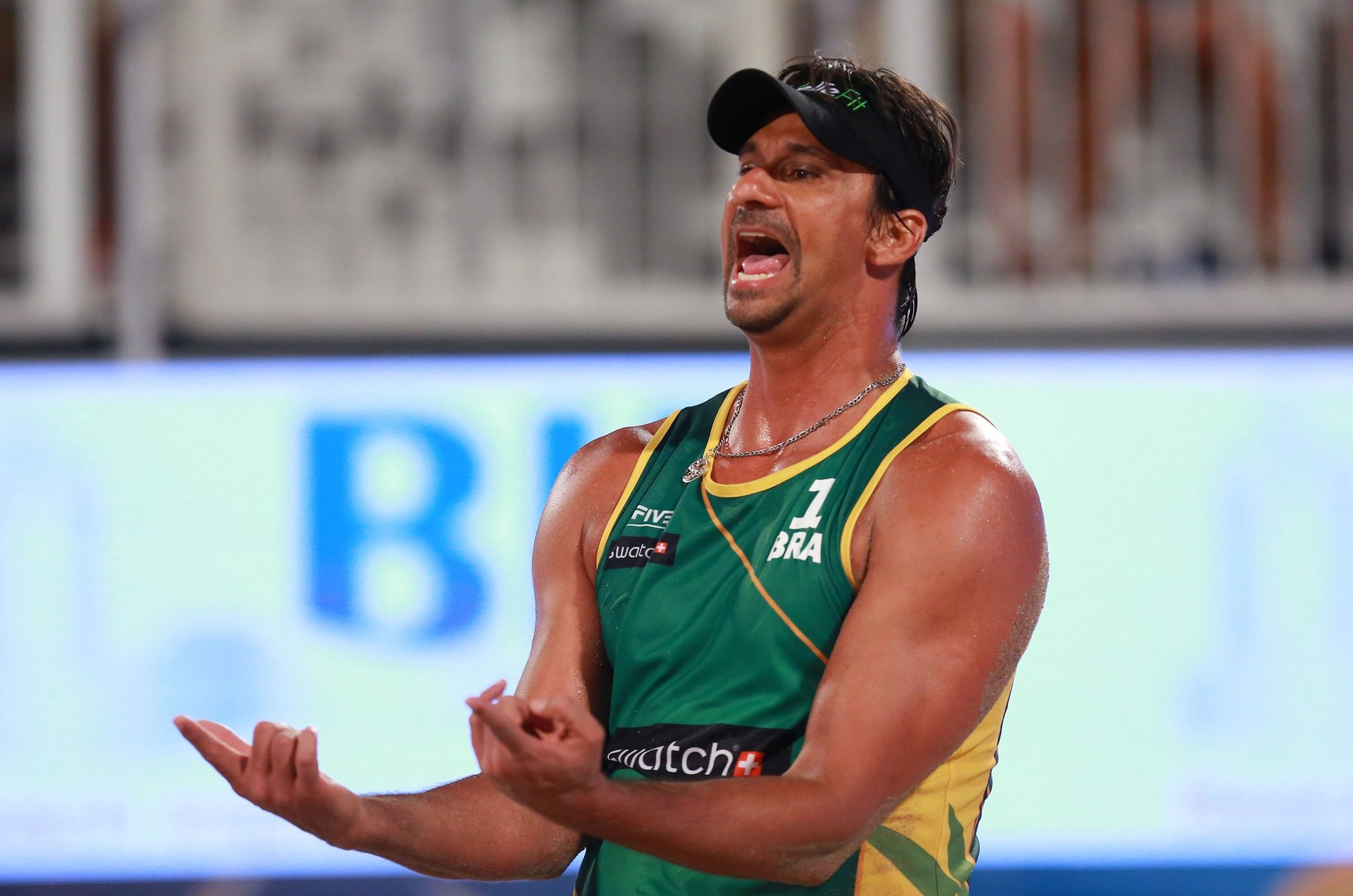 Ricardo in action during last year's Fort Lauderdale Major (Photocredit: FIVB)