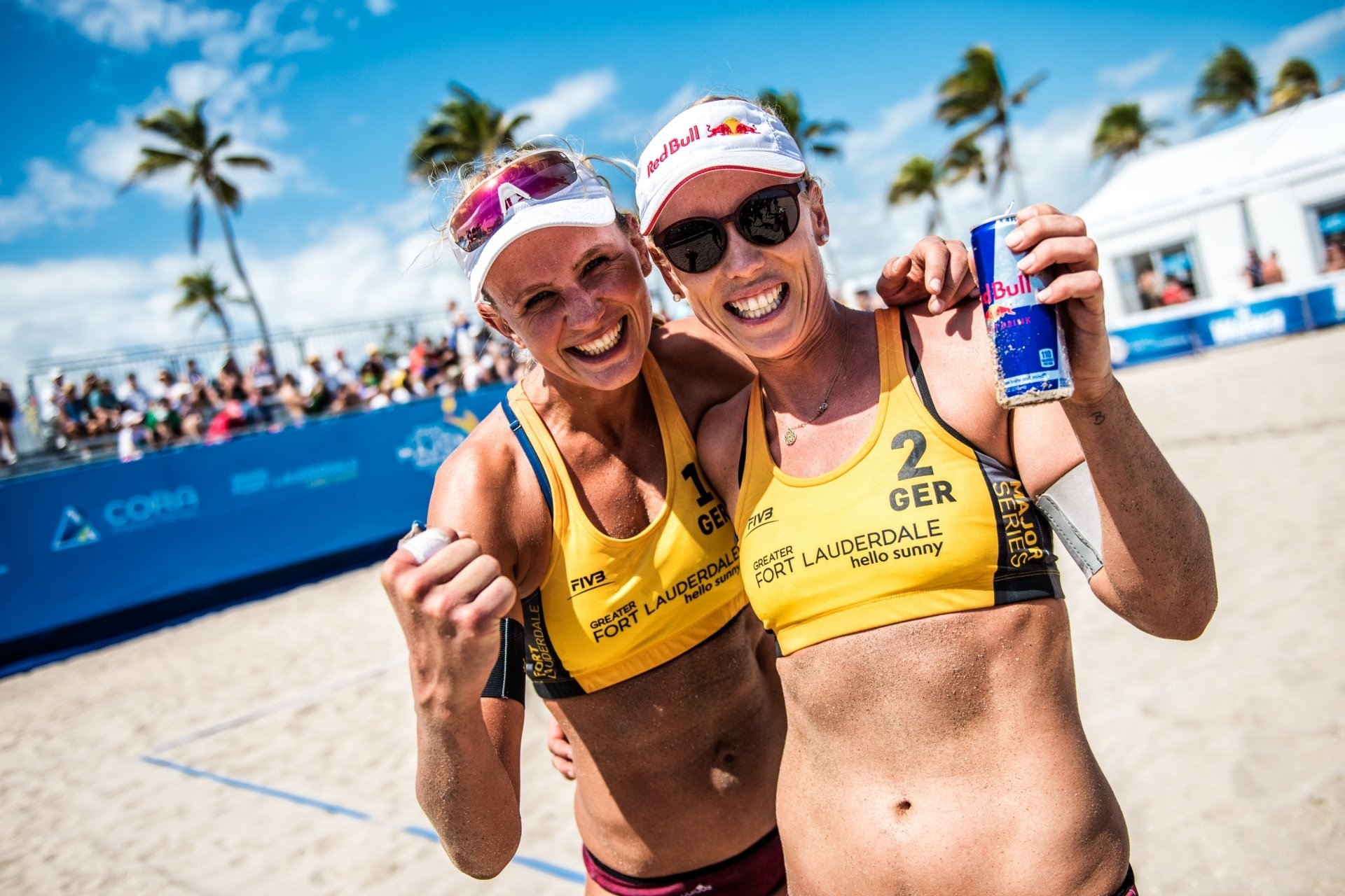 Germans Maggie Kozuch and Karla Borger will test their game in the Dutch Tour this weekend