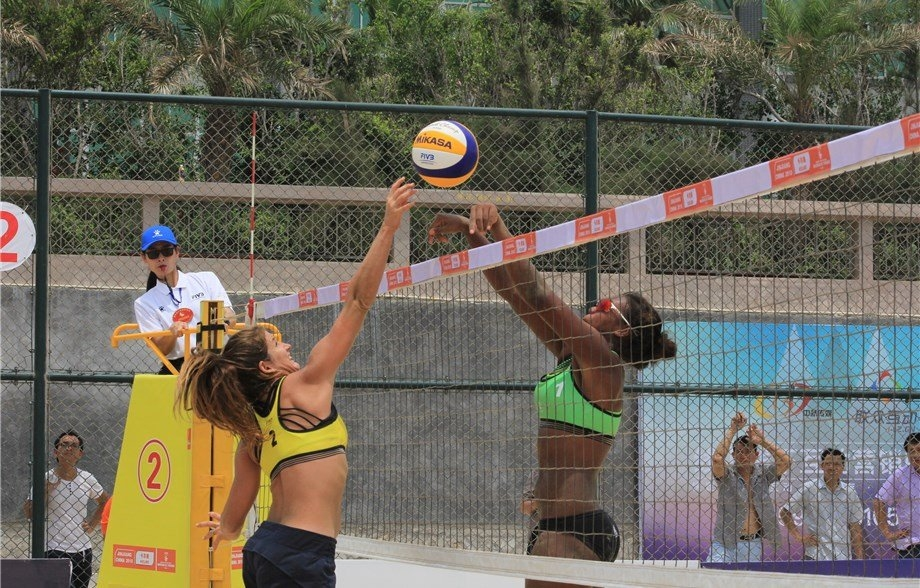 A total of 120 teams are set to compete in the World Tour this week (Photocredit: FIVB)