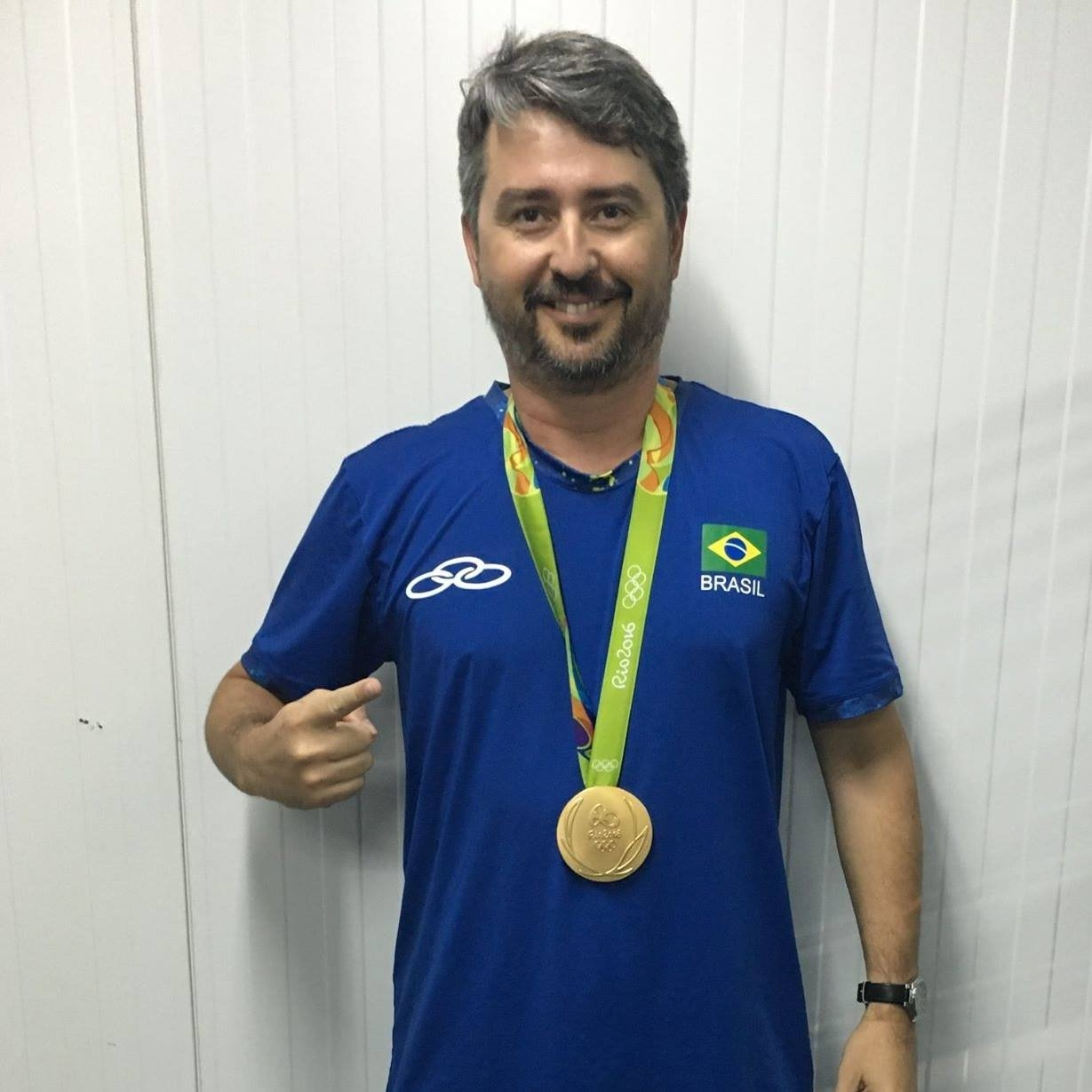 Marco Char was part of Alison and Bruno's staff during their victorious Rio 2016 campaign