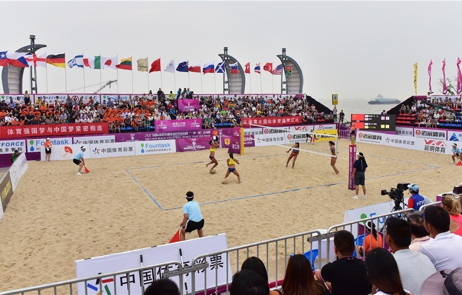 Nantong hosts a World Tour stop for the second consecutive season (Photocredit: FIVB)