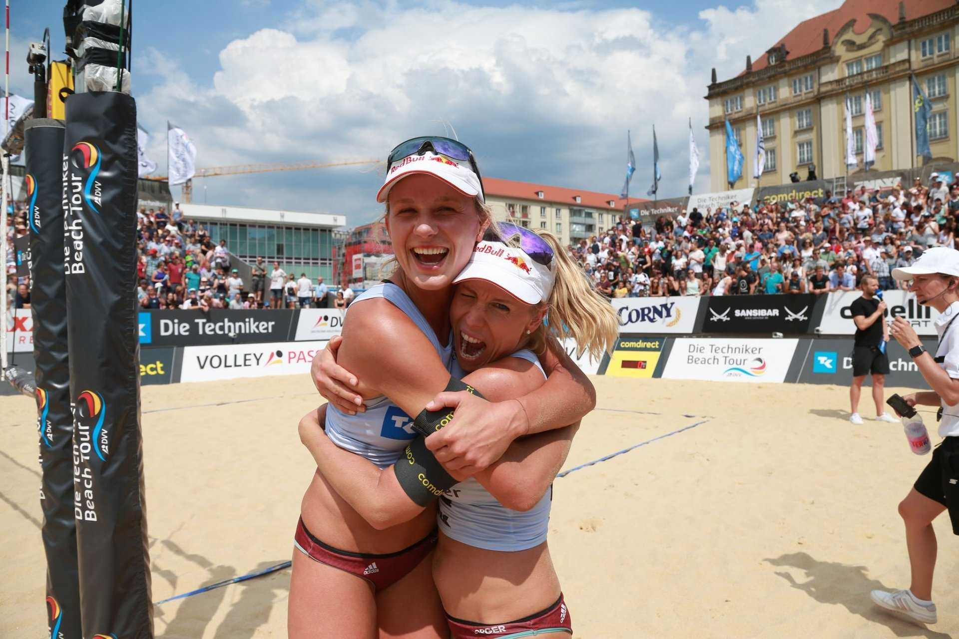 Kozuch and Borger were the champions of the second event of the German Tour (Photocredit: Die Techniker Beach Tour)